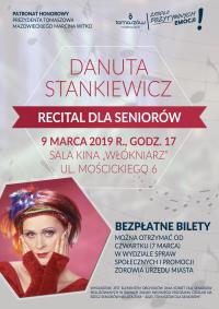 Odbierz bezpłatny bilet na występ Danuty Stankiewicz